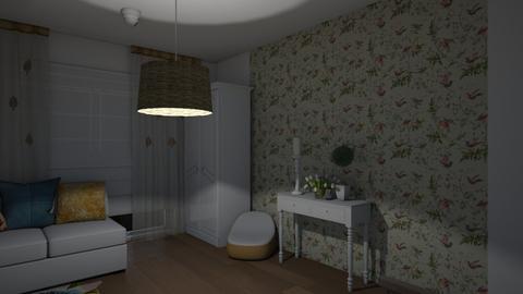 safari5 - Bedroom  - by louiseschweitz