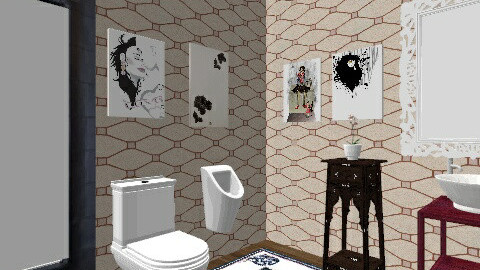 bathroom - Vintage - Bathroom  - by Eva Faust