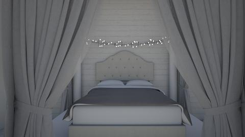 grey room - Modern - Bedroom  - by lackcailey