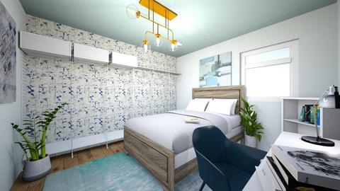 Bedroom - Modern - Bedroom  - by Natalie Pearson