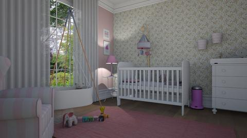 Baby pink - Kids room  - by Tuija