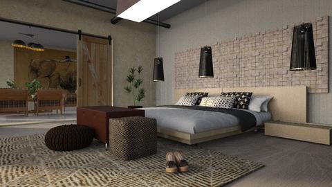Solis Lamps - Bedroom  - by ZuzanaDesign