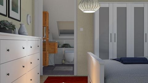 Art Nouveau remix1 - Bedroom  - by mikaelahs