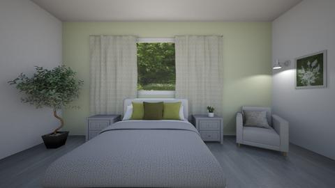 Sage Green Room - Bedroom  - by Daniela Mousley