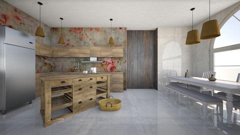 granja - Kitchen  - by ana111