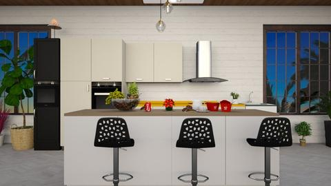 kitchen - Dining room  - by malithu damsath