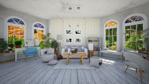 small living room - Classic - Living room  - by Mihailovikj Mimi