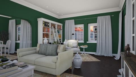 Woodland View 4 - Classic - Living room - by Claudia Correia