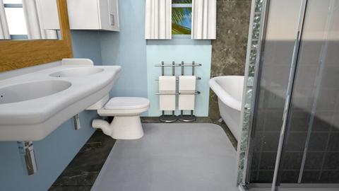 My bathroom - Modern - Bathroom  - by queencheese