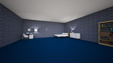 the midnight bedroom - Bedroom  - by Grat_rat