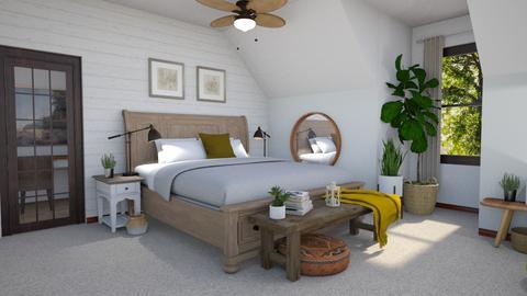 Cape Cod Bedroom - Bedroom  - by KCAD