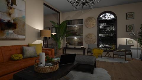 floorlamps - Living room  - by Ebru Tekneci
