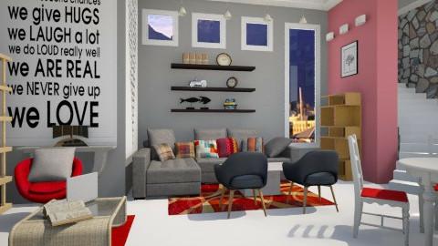 Tati Sandton - Modern - Living room  - by Nhezi
