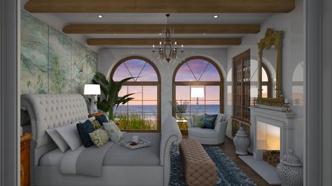 Hamptons Master Bedroom - Bedroom  - by Fofinha
