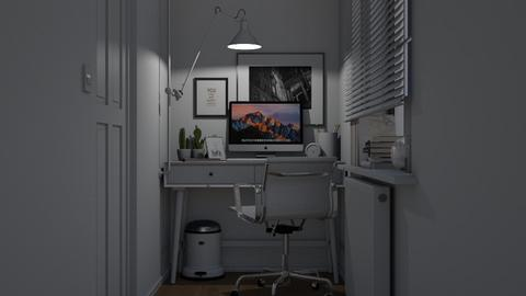 Tiny Home Office - Modern - Office  - by HenkRetro1960