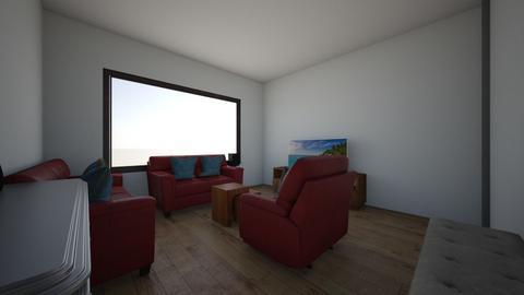 Erick Vasquez Sala - Modern - Living room  - by Erick Fabricio