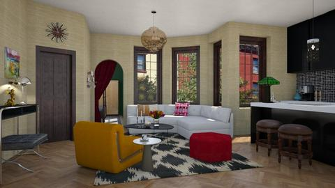 Living for Chloe - Eclectic - Living room  - by 3rdfloor