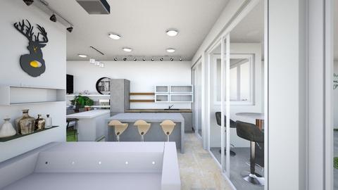 Economy Minimal - Living room  - by laichiongwee