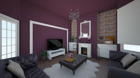 Purple Bliss Nr 301 - Glamour - Living room  - by Lisett
