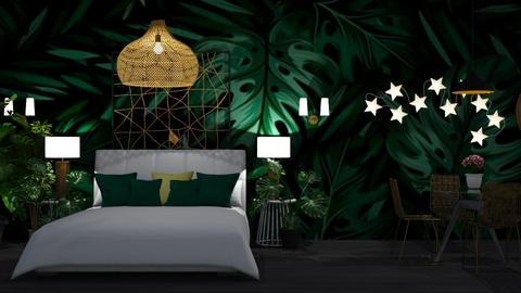 Bedroom leaves  - Modern - Bedroom  - by MB2006