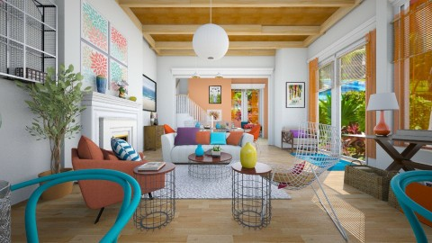 Caribbean summer - Modern - Living room  - by pachecosilv