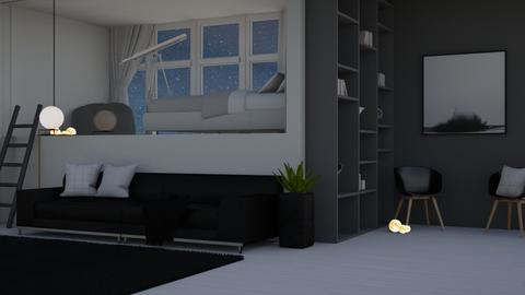Night Sky - Minimal - Bedroom  - by kanrxji
