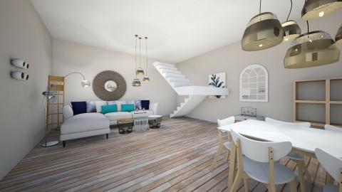 east coast living room - Modern - Living room  - by atikabyputri