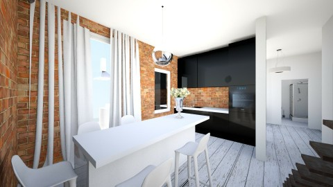 polysk1 - Retro - Kitchen  - by ewcia11115555