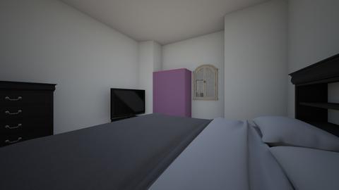 yanas bedroom  - Bedroom  - by FACSEMS