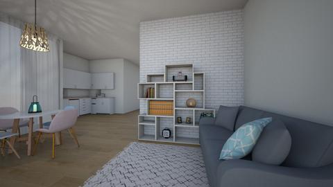 apartament - Living room - by dia17a