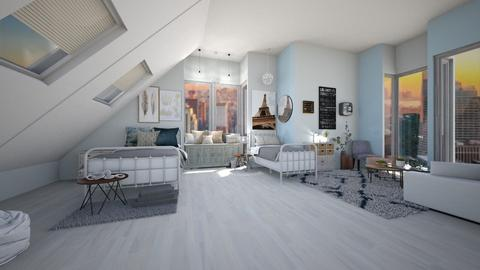 Shared Apartment - Bedroom - by jo0207