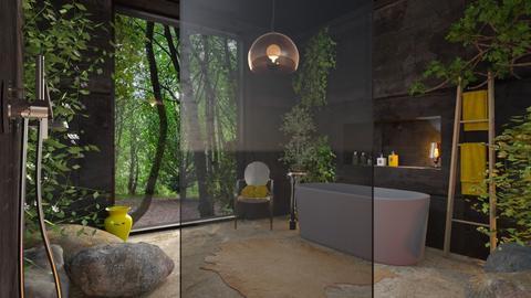 yellow - Bathroom  - by bnu