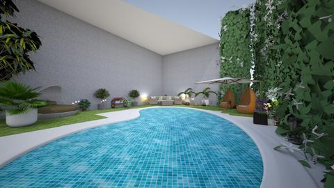 swim summer  - Garden - by memmi