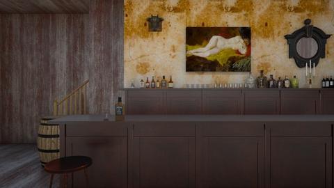 Jack  Saloon - Vintage - by Claudia Correia