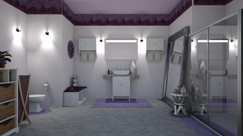 Lavender Bathroom  - Bathroom - by Gab71892