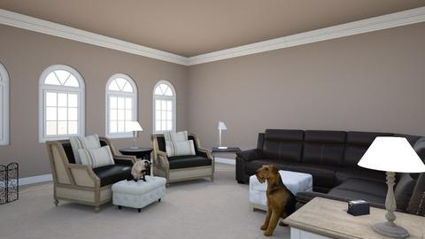 Living Room - Eclectic - Living room - by aubriconradt820