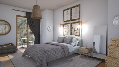 Warm minimalish - Minimal - Bedroom  - by augustmoon