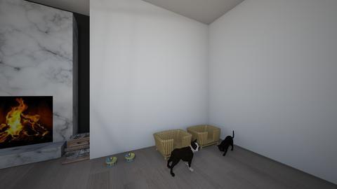 Living room_animals  - by saratevdoska