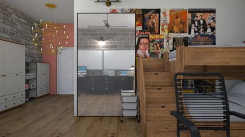 Teens bedroom  - Bedroom  - by _friedmomo_