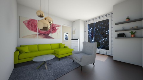 My living room 2 - Living room - by Anna Niemiec_445