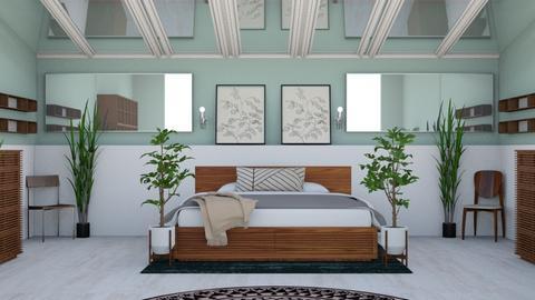 Asymmetrical  - Modern - Bedroom - by helsewhi