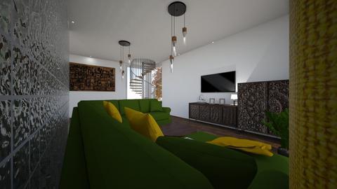 CZARNY - Living room - by DERRYS