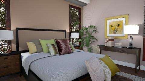 Bali Masterbedroom 2 - Vintage - Bedroom  - by Ejad Shukri