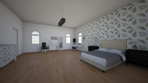 Sypialnia  - Bedroom  - by Paula_witam