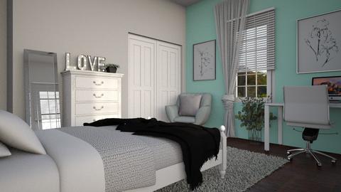 new room - Bedroom  - by RaeCam