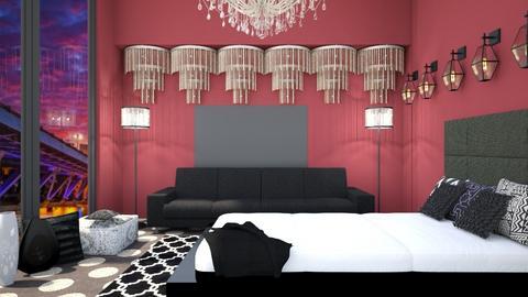 chandelier - Living room  - by nihalruttala