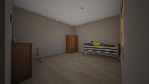 hospitalised themed - Minimal - Bedroom  - by Signified