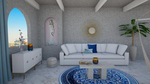 Greek Living - Living room  - by Gab71892