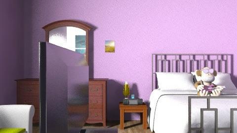 dream room - Retro - Bedroom  - by melinda_smith