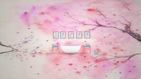 Cherry Blossom Bathroom - Bathroom  - by Designer 10